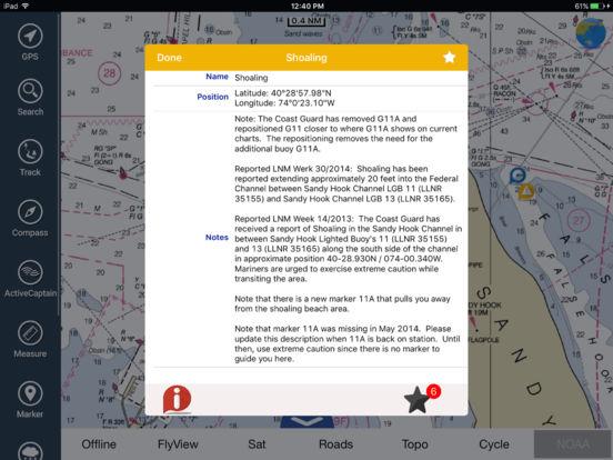 Marine: Sydney HD - GPS Map Navigator iPad Screenshot 2