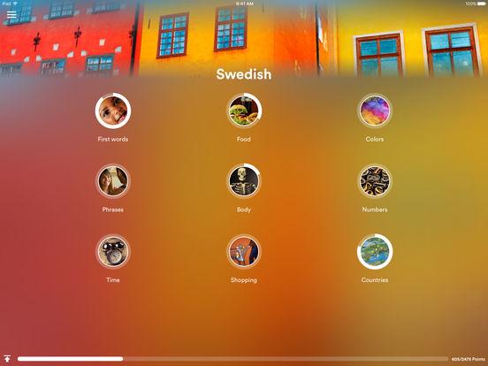 uTalk HD Swedish iPad Screenshot 1