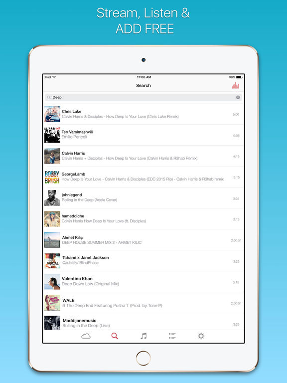 download free music online for free without registration for ipod