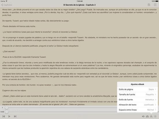 El Secreto de la iglesia - AudioEbook iPad Screenshot 1