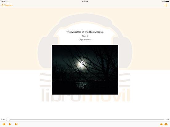 The Murders in the Rue Morgue - Edgar Allan Poe iPad Screenshot 1