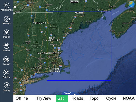 Marine: Rhode Island to Maine HD iPad Screenshot 5