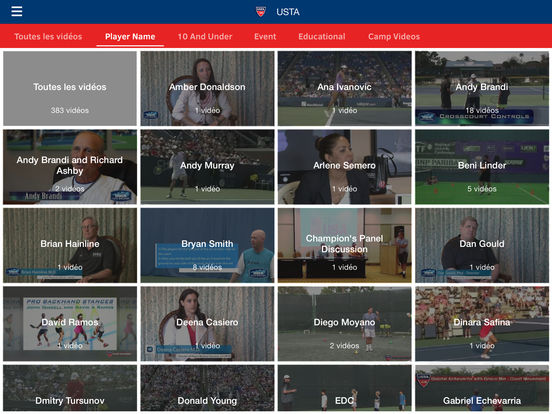 USTA.TV screenshot