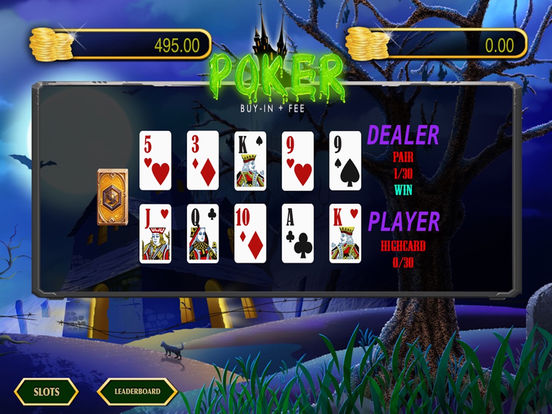 Pacific poker for ipad