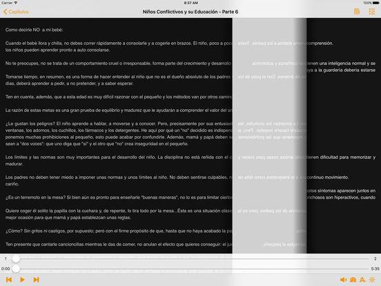 Niños Conflictivos y su Educación - AudioEbook iPad Screenshot 2