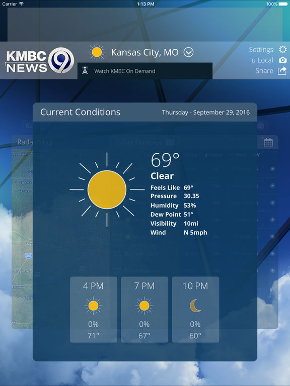 App Shopper: First Alert Weather From KMBC 9 News Kansas ...