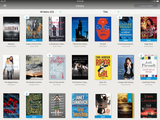 Screenshots of NOOK: Read eBooks & Magazines for iPad