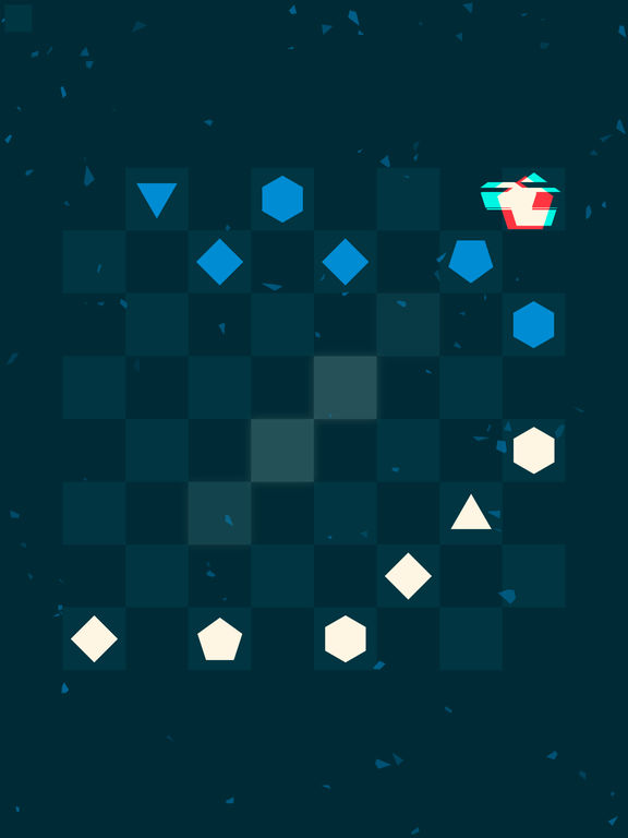 Glitchy Checkers Screenshot