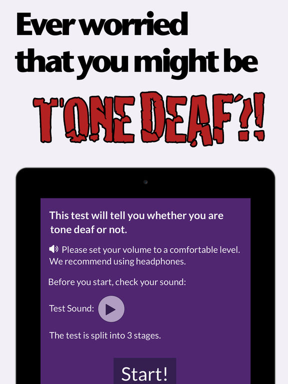 how to tell if you re tone deaf