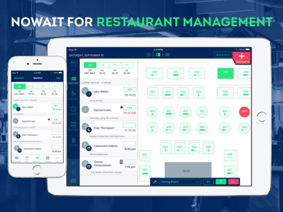 Nowait Host Restaurant Waitlist And Table Management AppRecs - Restaurant table management system