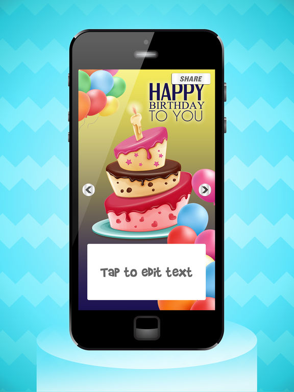 Happy Birthday Cards Party Invitation Maker on the App Store – Ipad Birthday Card