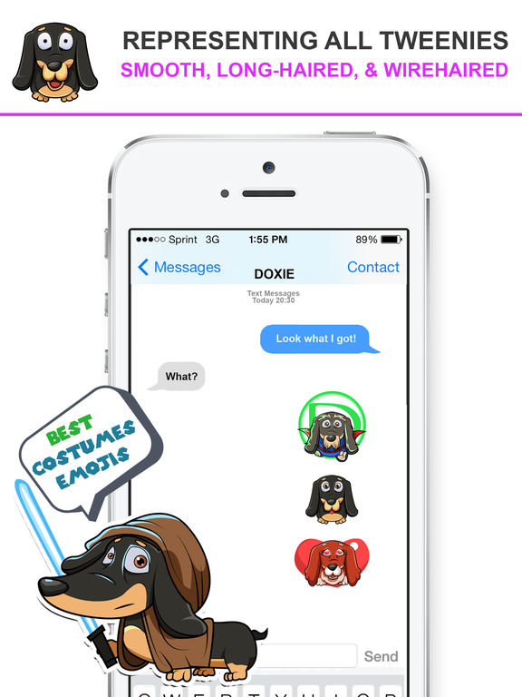 DoxMoji - Dachshunds Emoji Stickers screenshot 7
