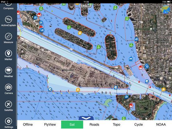Marine : Florida HD iPad Screenshot 3
