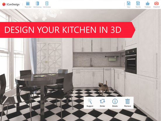3d kitchen designer for ikea icandesign planner by oleksandr rysenko