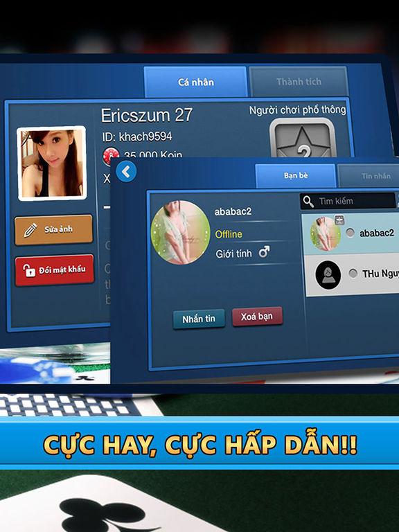 Beme - Game đánh bài online  Game bài Tiến Lên VIPscreeshot 3