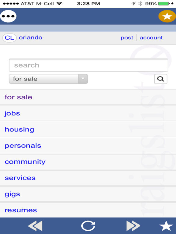 CL Mobile - Classifieds for Craigslist screenshot