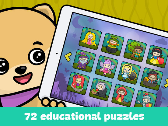 Baby jigsaw puzzles for kids - coloring games freescreeshot 3