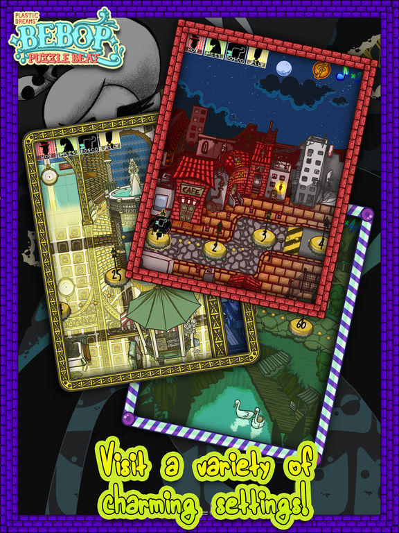 Bebop Puzzle Beat Screenshot