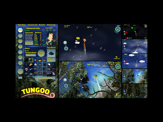 Tungoo - Bubble bursting vertical platformer Screenshots
