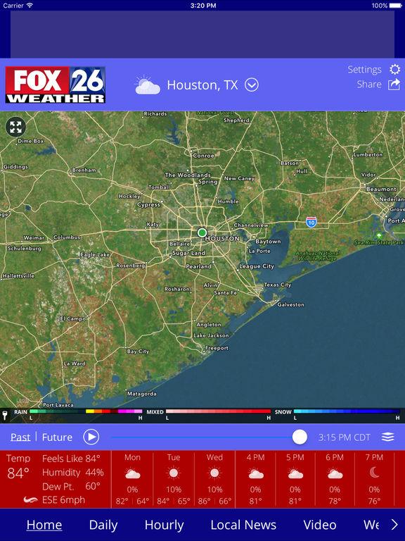 App Shopper: Houston Weather - FOX 26 Radar, Forecast ...