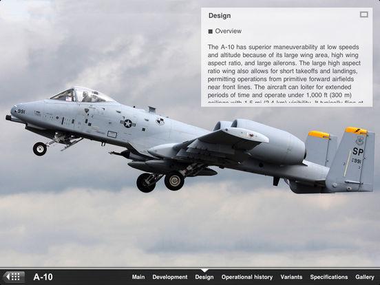 U.S. Military Aircraft Appreciate Guide iPad Screenshot 3