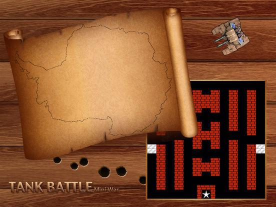 Tank Battle - Mini War ( Classic Style Shooter )screeshot 1