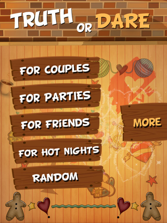 Screenshots of TRUTH or DARE - Hot Dirty Game for Sexy Nights for iPad