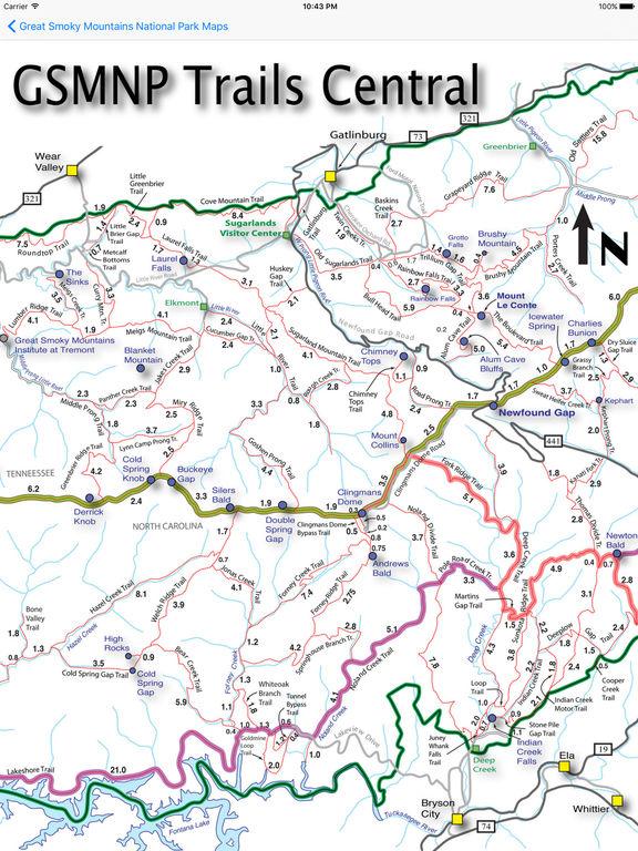 Hiking Great Smoky Mountains National Park screenshot