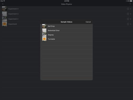 Vernier Video Physics iPad Screenshot 5