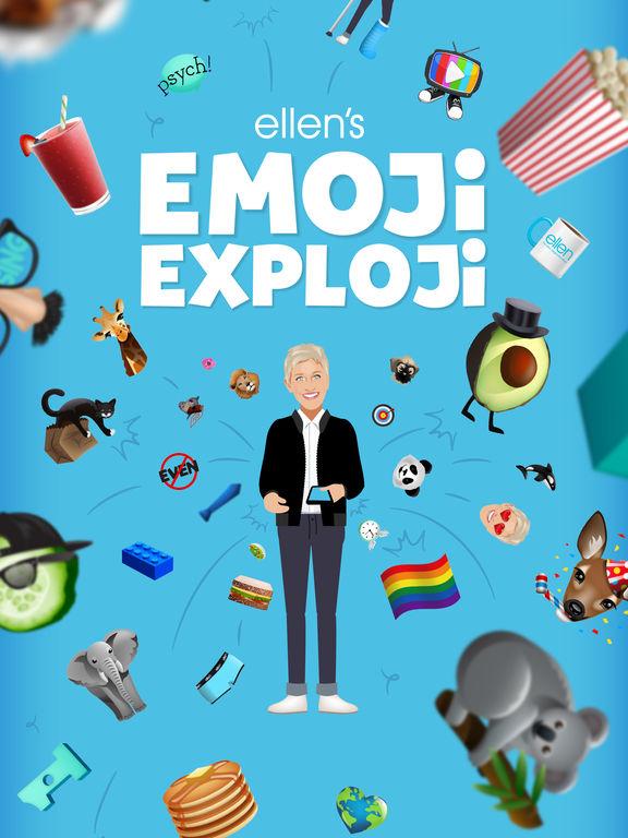 Ellen's Emoji Exploji Screenshots