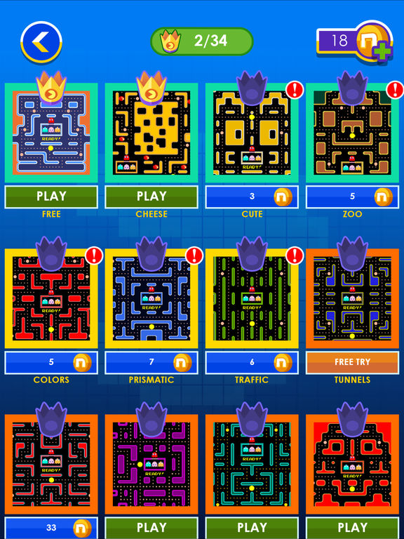 Screenshots of PAC-MAN Lite for iPad