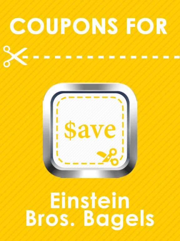 Einstein bagels coupons 2019