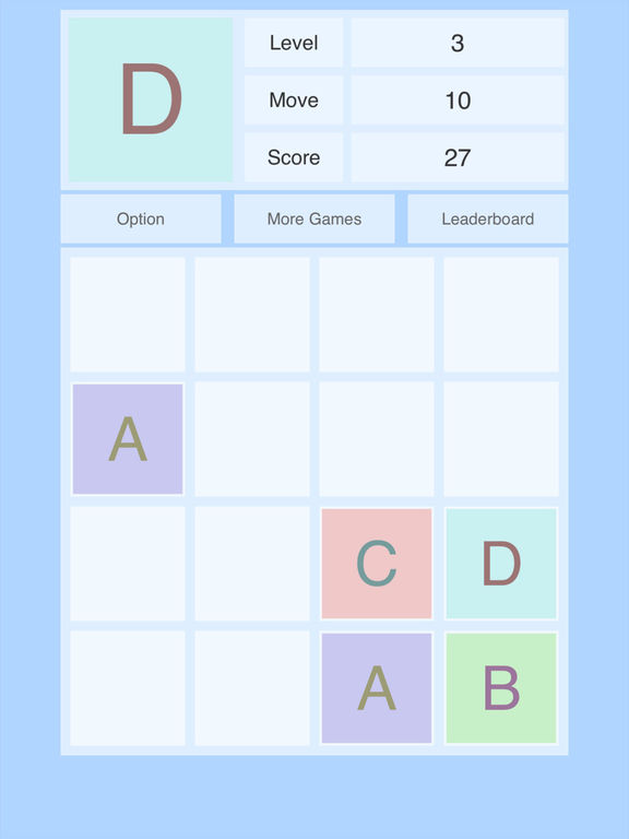 Alphabet 2048 Screenshots