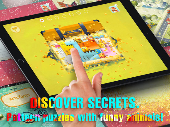 A Parcel of Courage book for kids with puzzles Screenshots