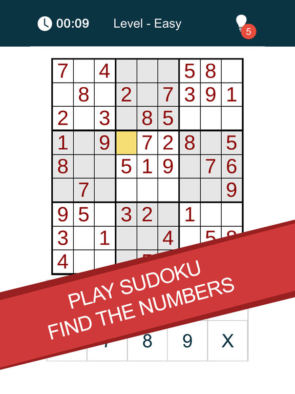 Sudoku - Numbers Puzzle на iPad