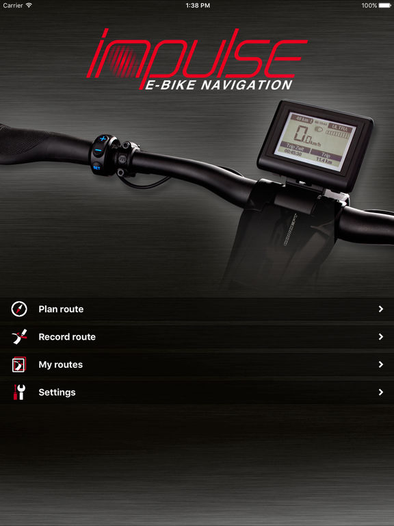 impulse e bike navigation on the app store