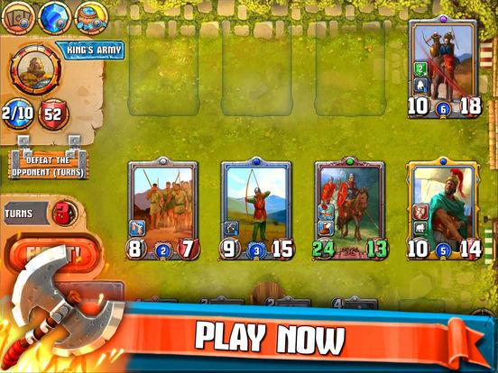 Heroes Empire: TCG на iPad