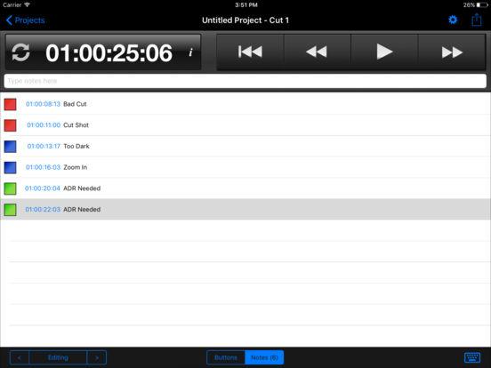 Cut Notes iPad Screenshot 2