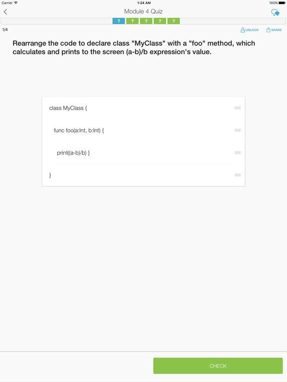 Learn Programming with Swift screenshot