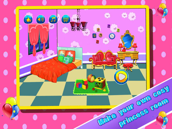 Princess Room Kids Games Girls Dressup Game On The App Store