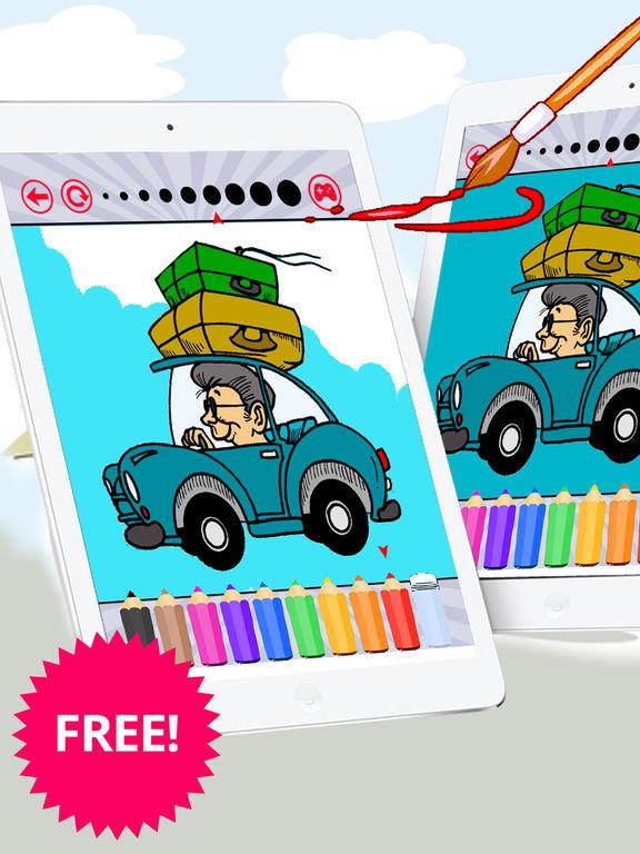 Автомобили раскраски Забронировать Бесплатно для д Скриншоты7