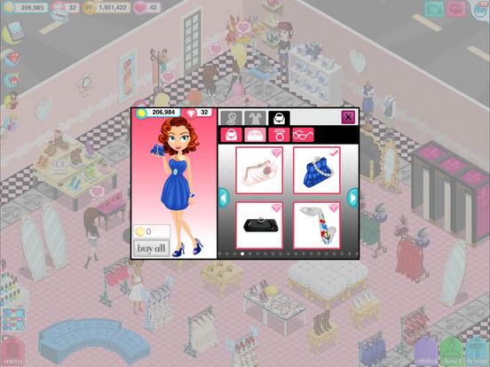 Screenshots of Fashion Story™ for iPad