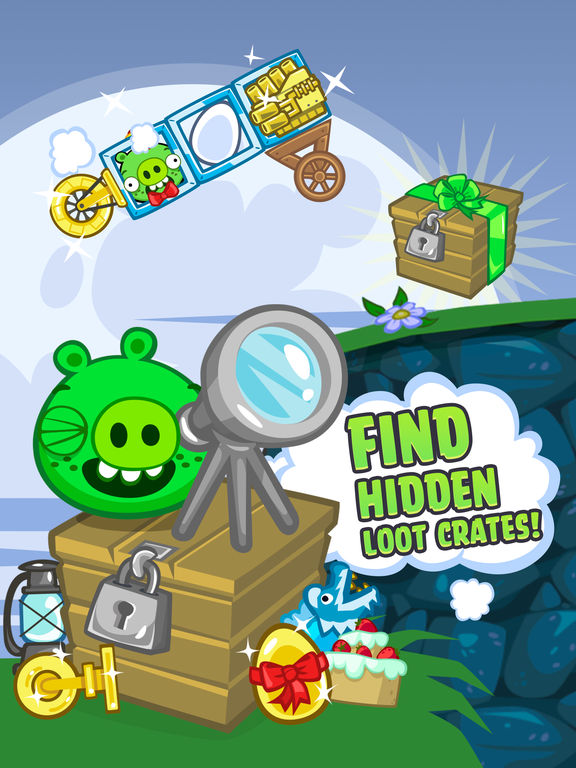Screenshot #4 for Bad Piggies HD