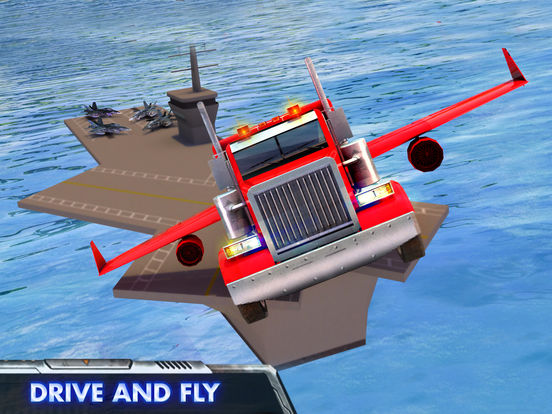 Modern Flying Truck Sim 3D на iPad
