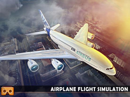 VR Airplane Flight Sim 2017 screenshot 10