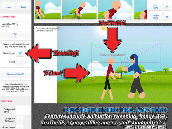 Stick Nodes - Stickman Animator screenshot