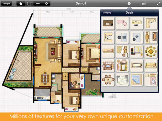 App Shopper Interior Plan 2d Home Design Floor Plan