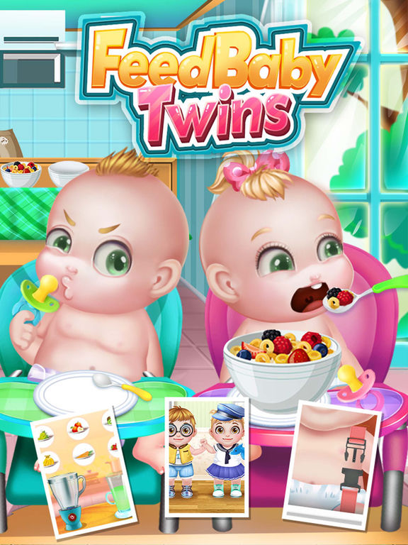 Feed Baby Twins - Baby Care & Terrible Twoscreeshot 2