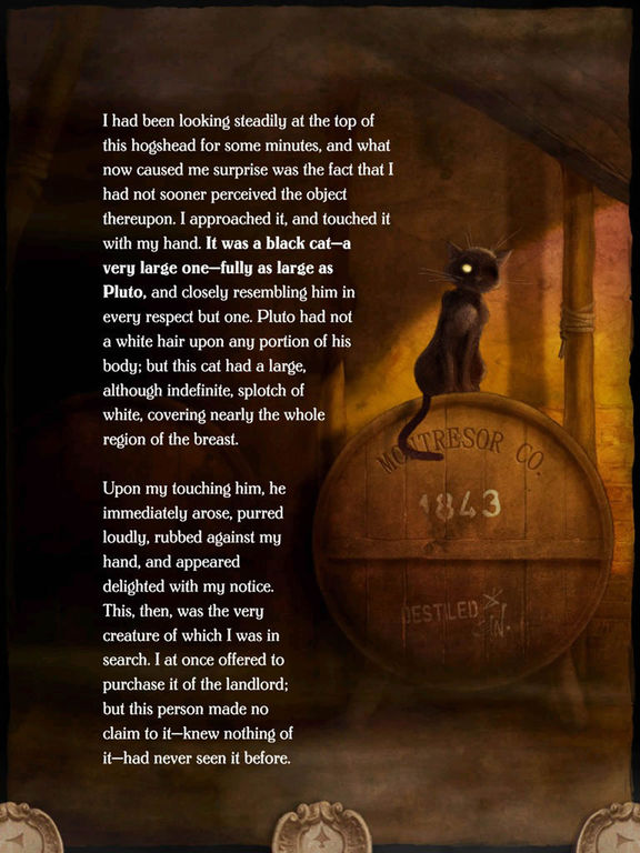 Screenshot #2 for iPoe 2 - Edgar Allan Poe Immersive Stories
