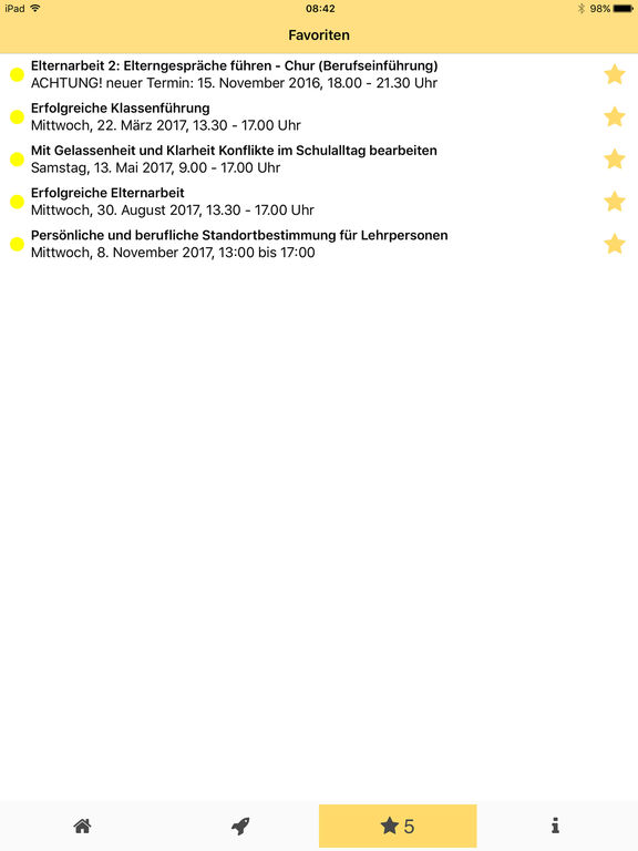 phgr - weiterbildungen on the app store